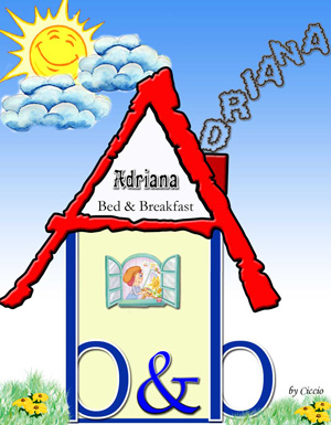 Logo bed and breakfast ADRIANA